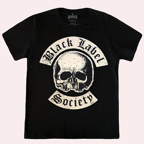 Camiseta Black Label Society - Skull - Bomber