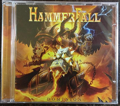 CD Hammerfall - Dominion - Lacrado