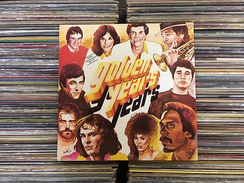 LP Golden Years 1987 -  Vários Artistas - Joe Cocker, Ike & Tina Turner...