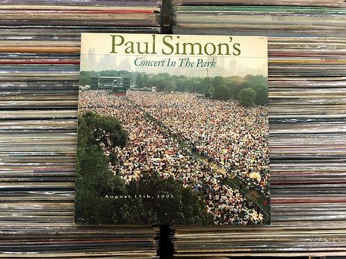 LP Paul Simon - Paul Simon's Concert In The Park - Duplo - Capa Dupla