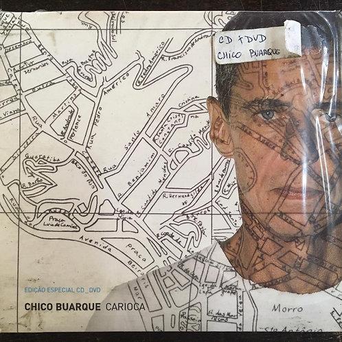 CD + DVD Chico Buarque - Carioca - Digipack - Lacrado