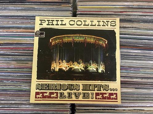 LP Phil Collins - Serious Hits...live! - Duplo - Capa Dupla