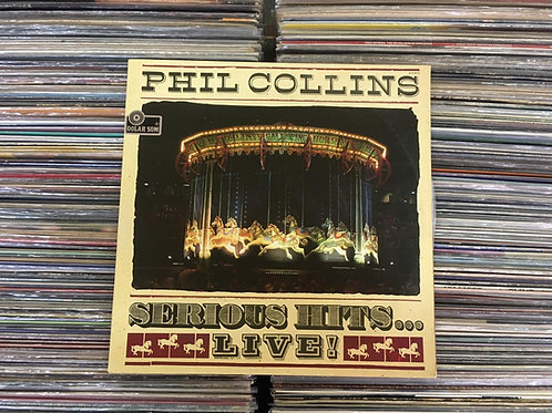 LP Phil Collins - Serious Hits...live! - Duplo - Capa Dupla