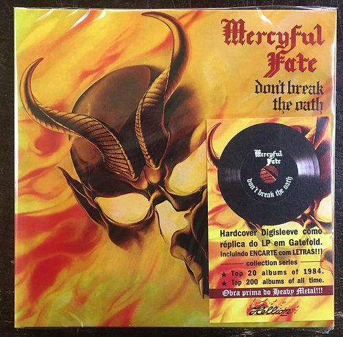 CD Mercyful Fate - Don't Break The Oath - Digisleeve Lacrado
