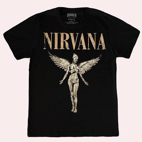 Camiseta Nirvana - In Utero - Bomber