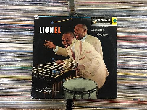 LP Lionel Hampton - Lionel ...Plays Drums, Vibes, Piano