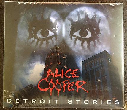 CD + DVD Alice Cooper - Detroit Stories - Digipack - Lacrado
