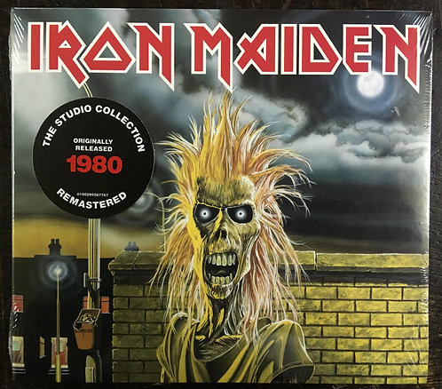 CD Iron Maiden - Iron Maiden - Digipack - Lacrado