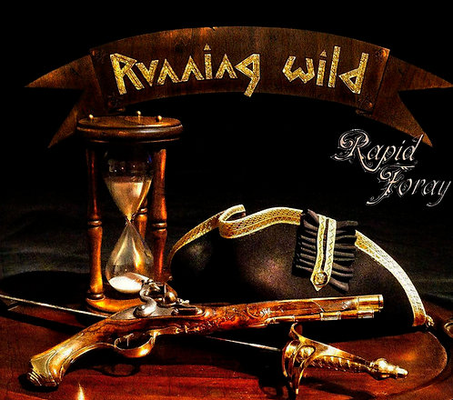 CD Running Wild - Rapid Foray - Digipack - Lacrado