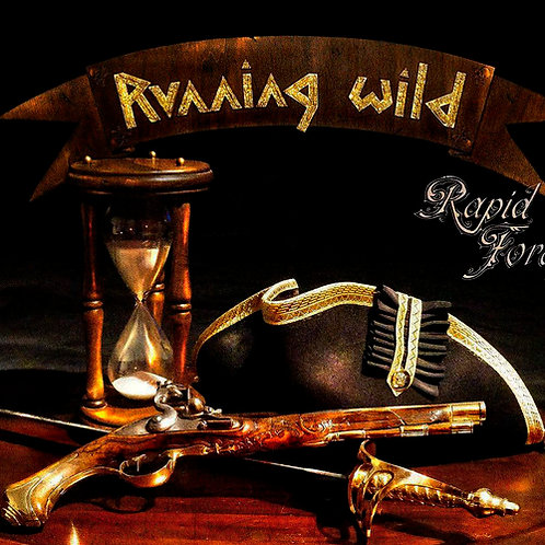 CD Running Wild - Rapid Foray - Digipack - Lacrado