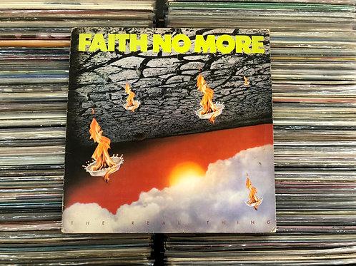 LP Faith No More - The Real Thing - C/ Encarte