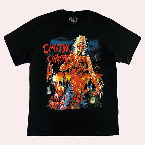 Camiseta Cannibal Corpse - Eaten Back To Life - Brutal