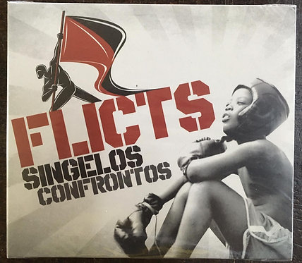 CD Flicts - Singelos Confrontos - Digipck - Lacrado