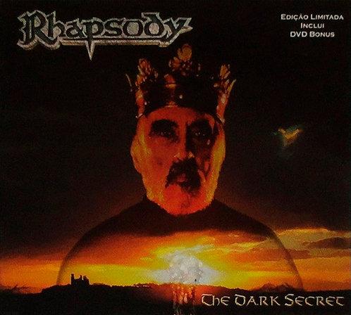 CD + DVD Rhapsody - The Dark Secret - Digipack - Lacrado