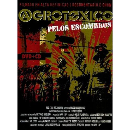 DVD + CD Agrotóxico - Pelos Escombros - Lacrado