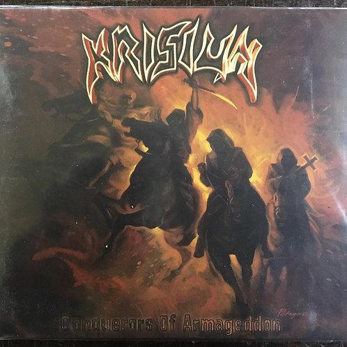 CD Krisiun - Conquerors Of Armageddon - Digipack - Lacrado