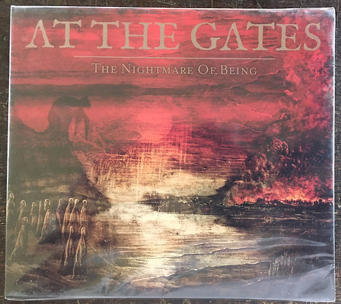 CD At The Gates - The Nightmare Of Being - Slipcase - Lacrado