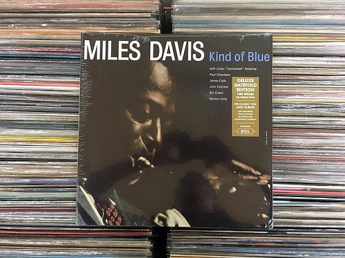 LP Miles Davis - Kind Of Blue - Importado 180g - Capa Dupla