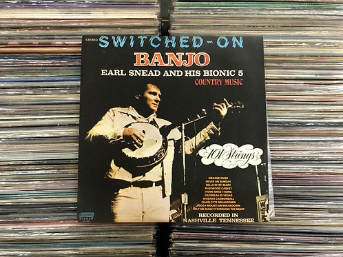 LP Earl Snead And His Bionic 5 - Switched On Banjo