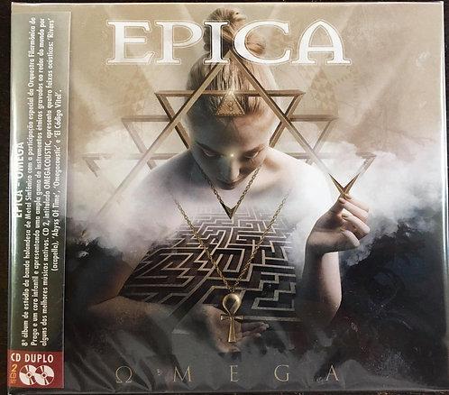 CD Epica - Omega - (Duplo) - Digipack - Lacrado