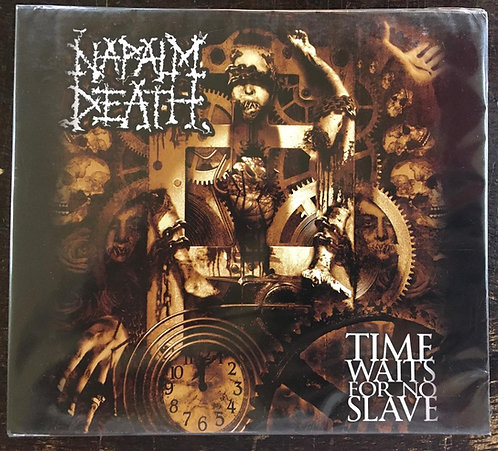 CD Napalm Death - Time Waits For No Slave - Slipcase - Lacrado