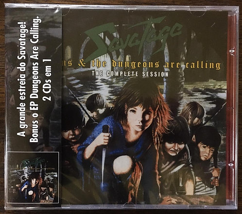 CD Savatage - Sirens & The Dungeons Are Calling - Lacrado