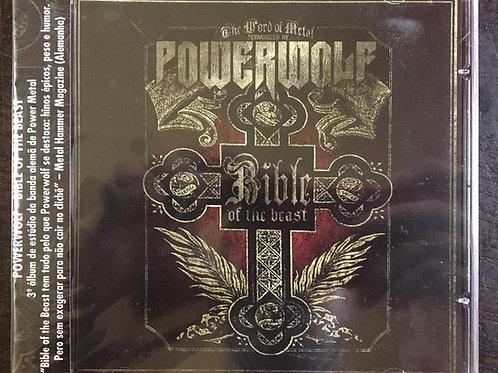 CD Powerwolf - Bible Of The Beast - Lacrado