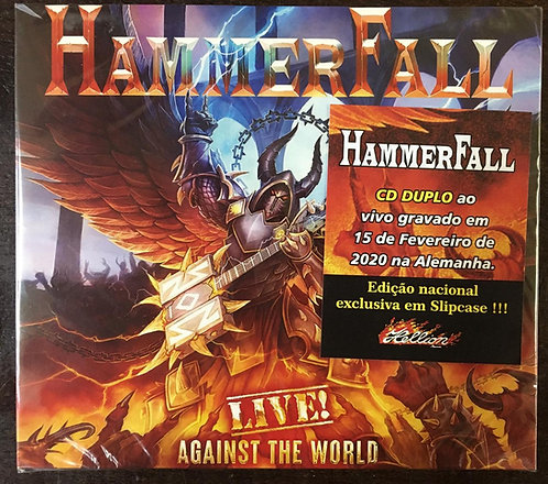 CD Hammerfall - Live! Against The World - (Duplo) - Lacrado
