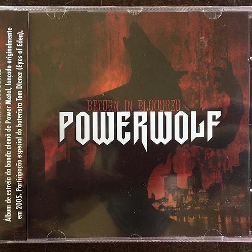 CD Powerwolf - Return In Bloodred - Lacrado