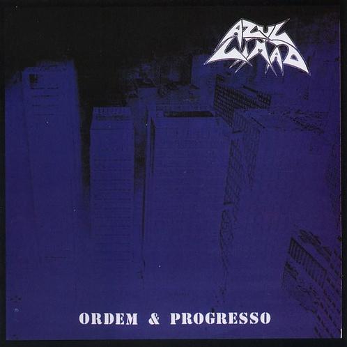 CD Azul Limão - Ordem & Progresso - Lacrado