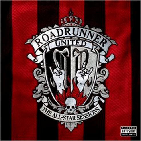 CD + DVD Roadrunner United - The All-Star Sessions - Lacrado