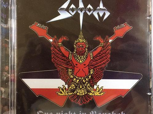 CD Sodom - One Night In Bangkok - Duplo - Lacrado