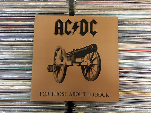 LP AC/DC - For Those About To Rock We Salute You - Capa Dupla