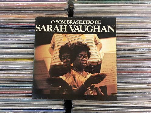 LP Sarah Vaughan - O Som Brasileiro De Sarah Vaughan - Capa Dupla