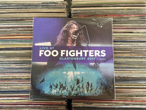 LP Foo Fighters - Live At Glastonbury 2017 - Part2 - Importado - Lacrado