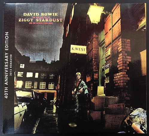 CD David Bowie -The Rise And Fall Of Ziggy Stardust And The Spiders From Mars