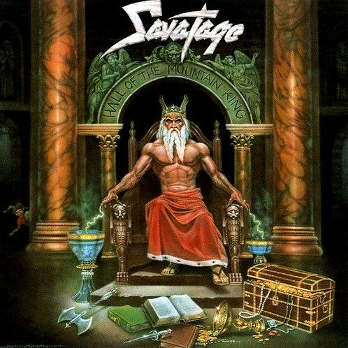CD Savatage - Hall Of The Mountain King - Importado - Lacrado