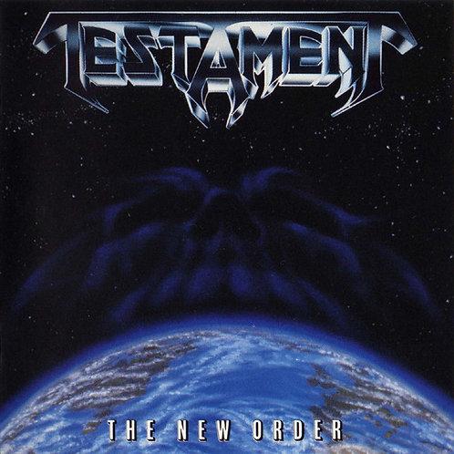 CD Testament - The New Order - Importado (Alemanha) Lacrado R$74,90