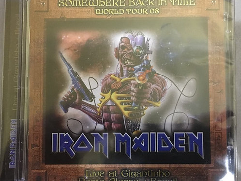 CD Iron Maiden - Somewhere Back In Time World Tour 08 - Duplo - Importado