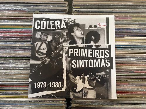 LP Cólera - Primeiros Sintomas 1979 - 1980 - Importado - Lacrado
