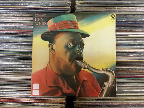 LP Ben Webster - Ballads - Duplo - Capa Dupla