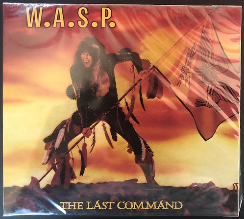 CD W.A.S.P. - The Last Command - Lacrado
