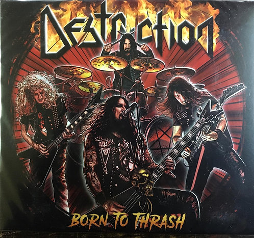 CD Destruction - Born To Thrash - Digipack - Lacrado