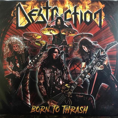 CD Destruction - Born To Thrash - Digipack - Lacrado