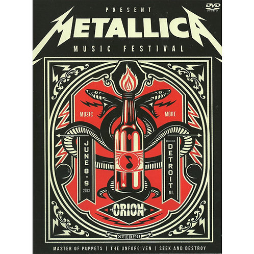 DVD Metallica - Music Orion Festival - Lacrado