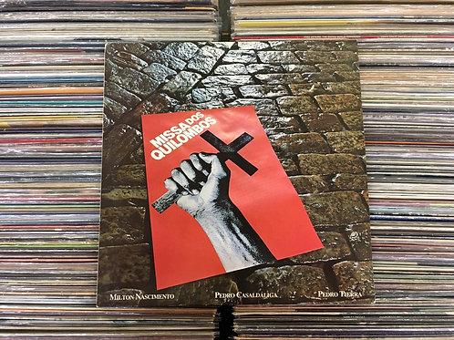 LP Milton Nascimento - Missa Dos Quilombos - C/ Livreto