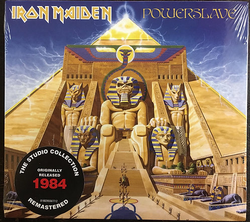 CD Iron Maiden - Powerslave - Digipack - Lacrado