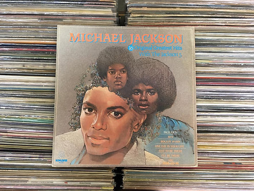 LP Michael Jackson - 14 Greatest Hits With The Jackson 5