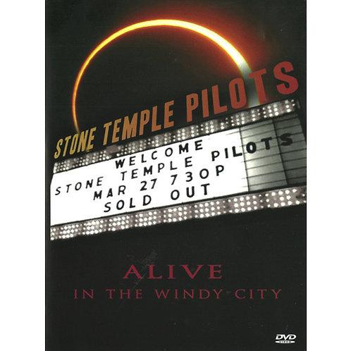 DVD Stone Temple Pilots - Alive In The Windy City - Lacrado