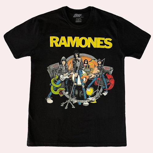 Camiseta Ramones - Road To Ruin - Stamp